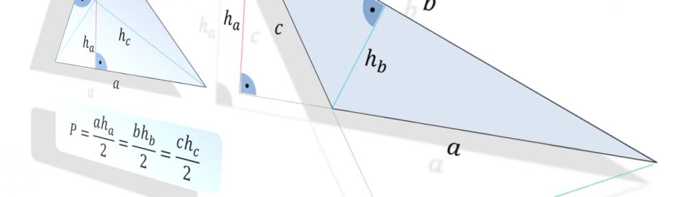 Trójkąt - Pole powierzchni